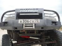 Бампер Т-34-4 передний усиленный на УАЗ Патриот, сталь 3, 4, 6 мм